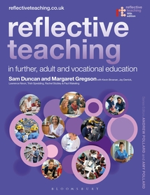 Cover of Reflective Teaching in Further, Adult and Vocational Education, Fifth Edition